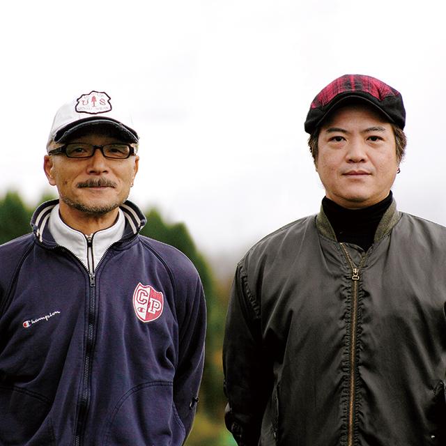 生産者の綿巻さんと田ノ上さん